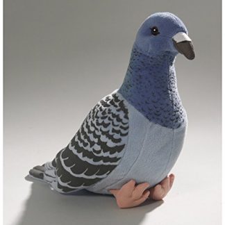 peluche paloma azul 24 cm felpa
